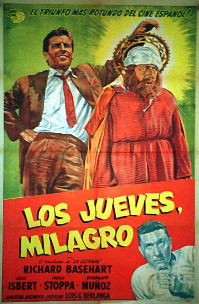LOS JUEVES MILAGRO (1957) [BLURAY 720P X264 MKV][AC3 5.1 CASTELLANO] torrent